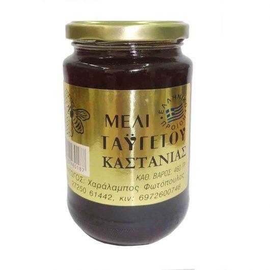 Μέλι Καστανιάς Ταϋγέτου.