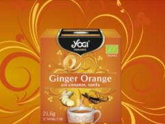 Yogi Tea Ginger - Orange με εκχύλισμα βανίλιας