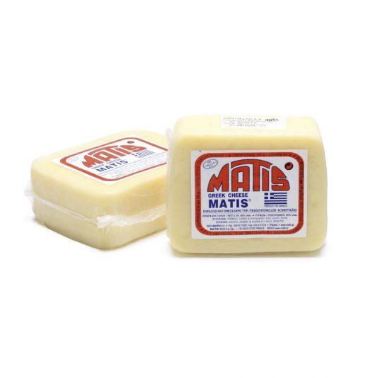 Παραδοσιακό ημίσκληρο τυρί Τρικάλων ΜΑΤΗΣ 370γρ.