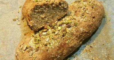 Ψωμί με αλεύρι ολικής άλεσης