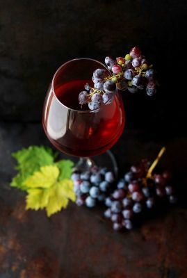 Οίνος ερυθρός Καμπερνέ Νεμέας χύμα 1 λίτρο