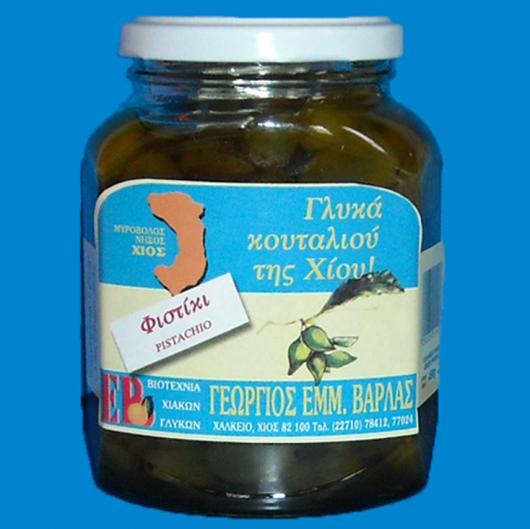 Γλυκό κουταλιού Χίου Φυστίκι 450γρ