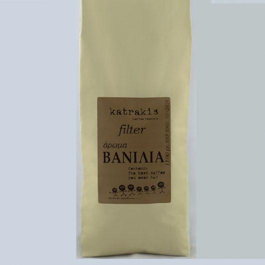 καφές φίλτρου με άρωμα