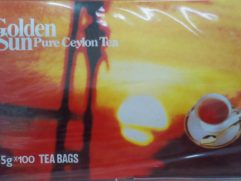 Golden Sun Μαύρο Τσάι Κεϋλάνης 100 φακ.