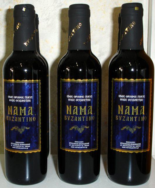 Εκκλησιαστικός οίνος «Νάμα Βυζαντινό» 375m
