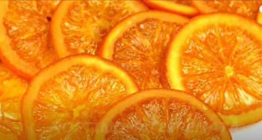 Πορτοκάλι φέτες γλασέ χύμα 380γρ