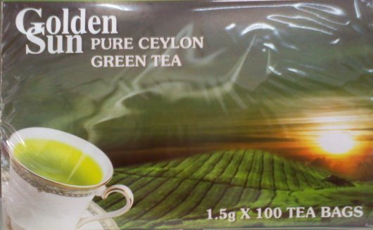 Golden Sun Πράσινο Τσάι Κεϋλάνης 100 φακ.