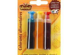 Χρώματα ζαχαροπλαστικής Vahine 3Χ6ml